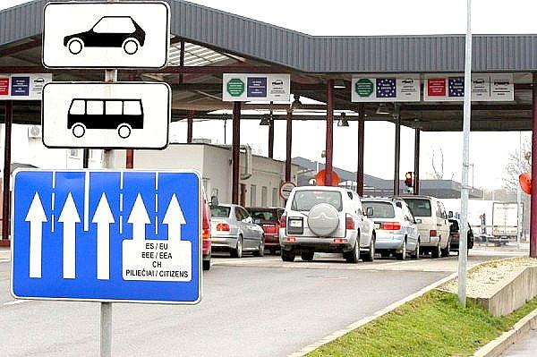 Специальные коридоры на пограничном переходе