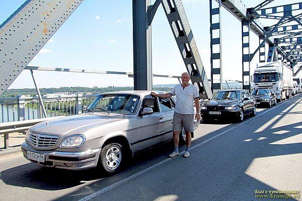 Мост Джурджу (Giurgiu), через реку Дунай. Пересечение границы Болгария - Румыния