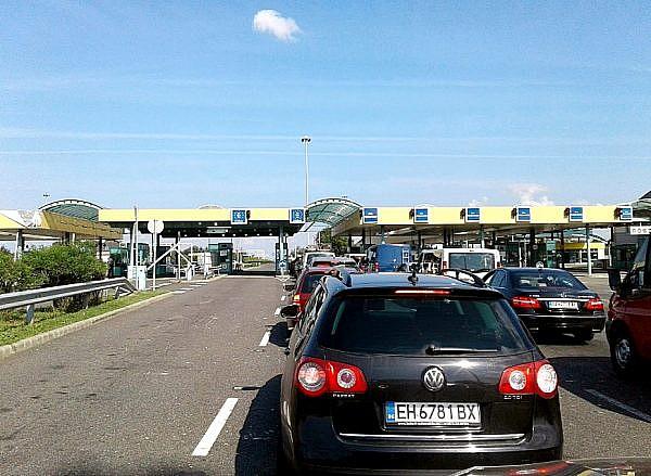 Пересечение границы Сербия - Венгрия