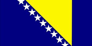 Флаг Босния и Герцеговина