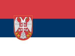 Флаг Сербия