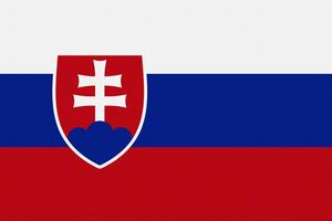 Флаг Словакия