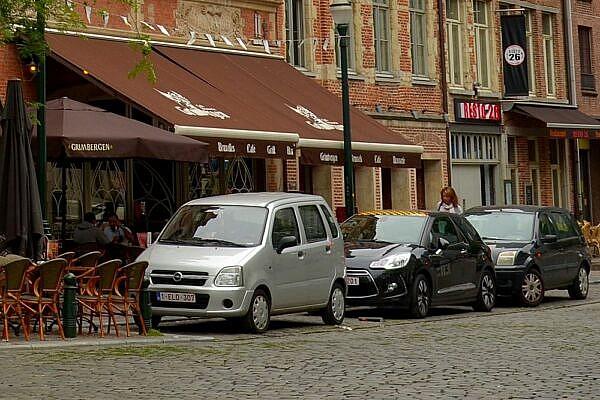 Опель Agilia, Брюссель