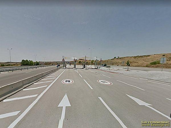 Оплата дорог в Португалии