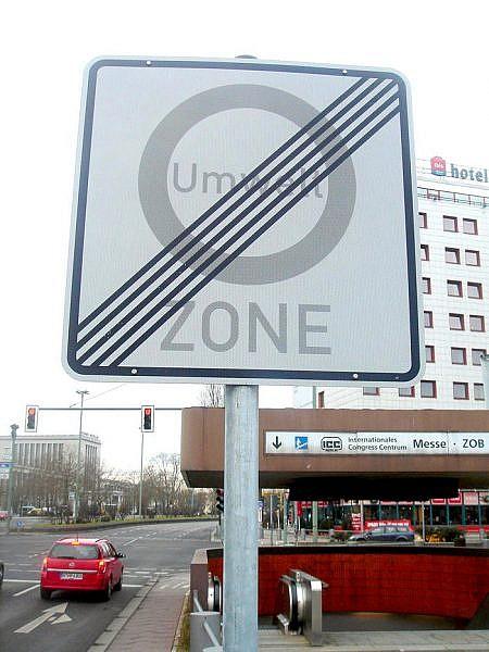 umwelt zone - экологические зоны в Германии
