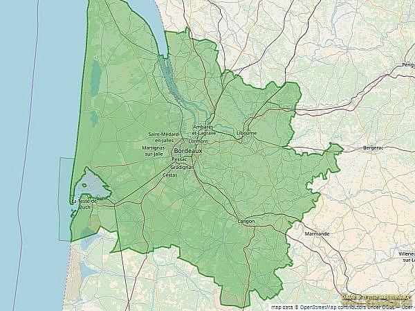 Экологическая зона департамента Бордо