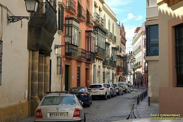 Улица Севилья
