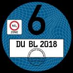 Экологические наклейки в Германии (плакетки) как определяется экологический класс автомобиля