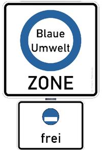 Синие экологические зоны в Германии