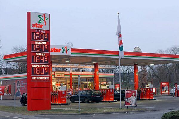 Стоимость топлива на АЗС в Европе