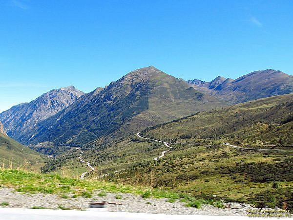 Пересечение границы Андорры на автомобиле