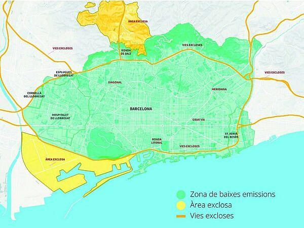 Экологическая зона Барселоны