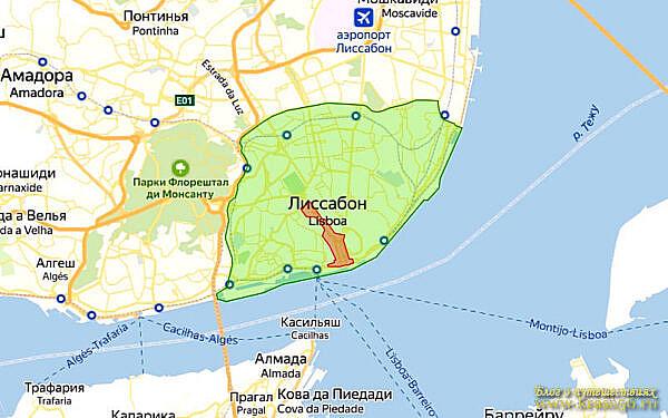 Экологическая зона Лиссабон, Португалия