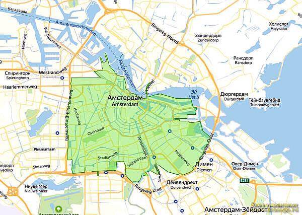 Экологическая зона Амстердам, Нидерланды