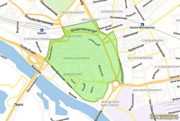 Экологическая зона Арнем, Нидерланды