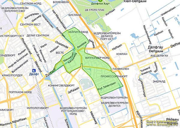 Экологическая зона Делфт, Нидерланды