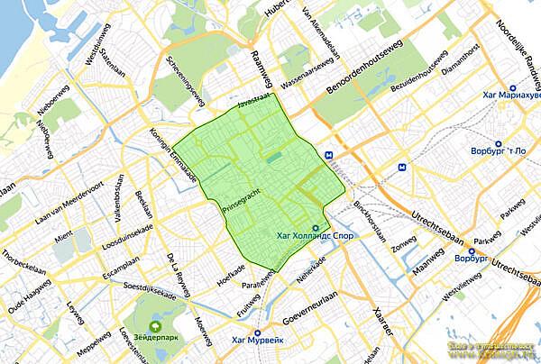 Экологическая зона Гаага, Нидерланды