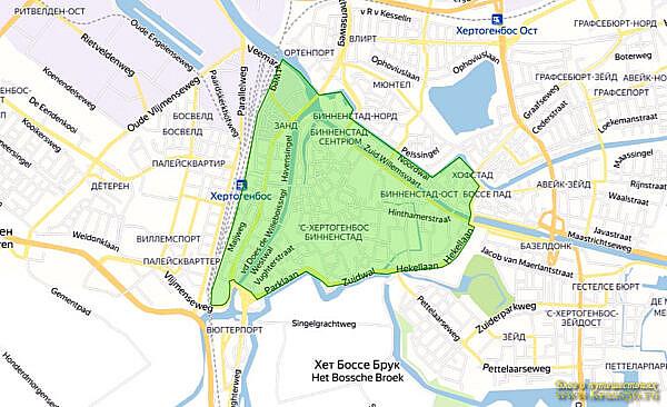 Экологическая зона Хертогенбос, Нидерланды