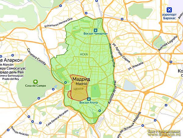 Экологическая зона Мадрид, Испания