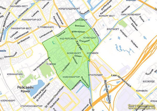 Экологическая зона Рейсвейк, Нидерланды