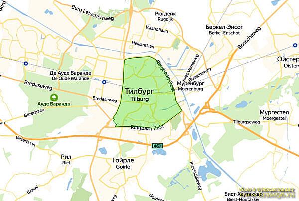 Экологическая зона Тильбург, Нидерланды