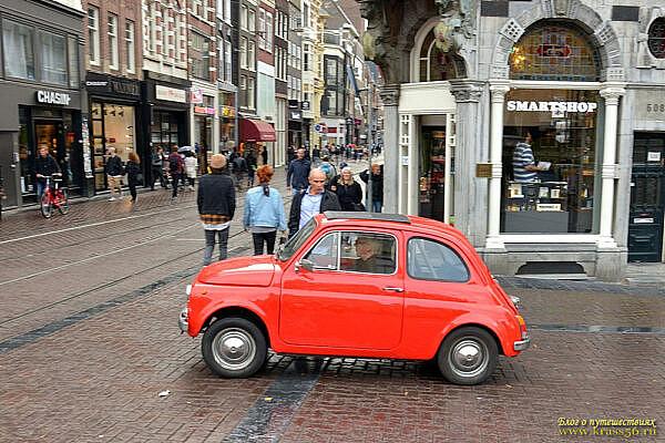 Фиат-Нуово в Амстердаме