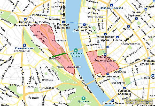 Зона ограничения движения, Будапешт, Венгрия