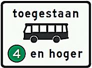 Знак экологической зоны в Нидерландах