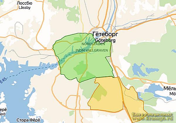 Ограничения движения - экологическая зона Гётеборг, Швеция