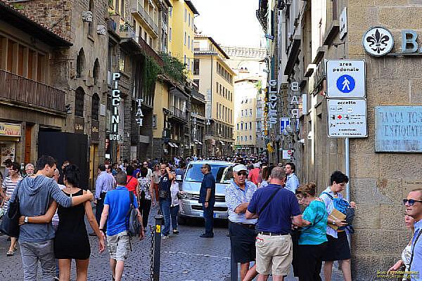 Пешеходная зона во Флоренции
